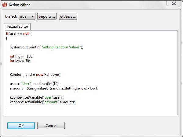 jBPM5 Script Task