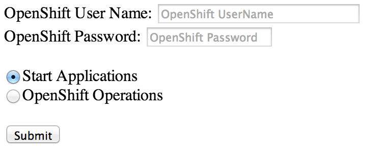 Camel OpenShift SwitchYard Application
