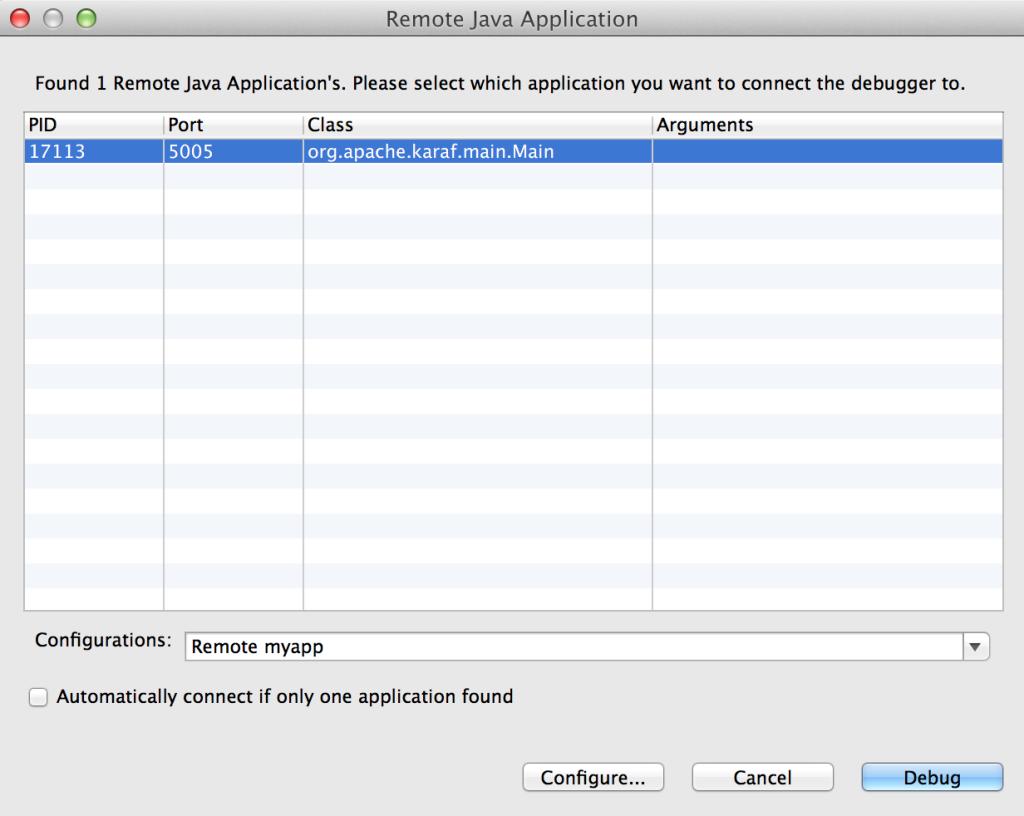 JBoss Developer Studio Remote Debug
